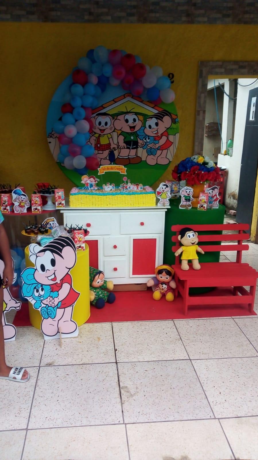 Festa em comemoração ao dia das crianças