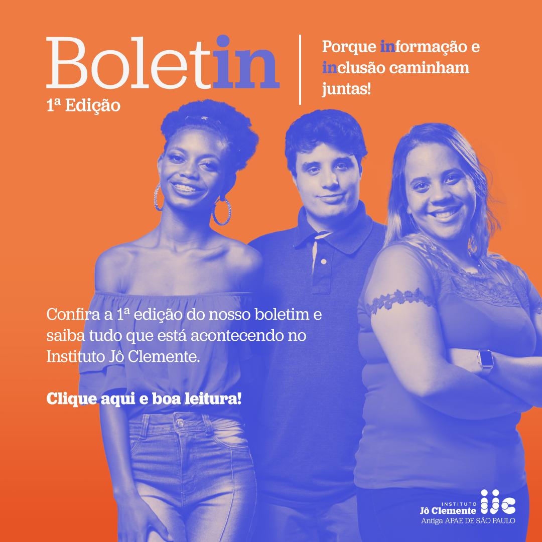 Boletim IJC - 1ª Edição - Abril 2021