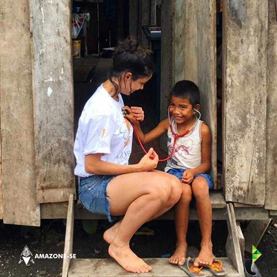 Vivência de Saúde do projeto Amazone-se