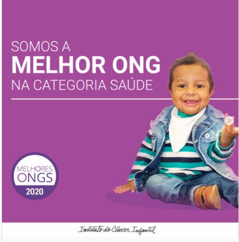 MELHOR ONG - CATEGORIA SAÚDE
