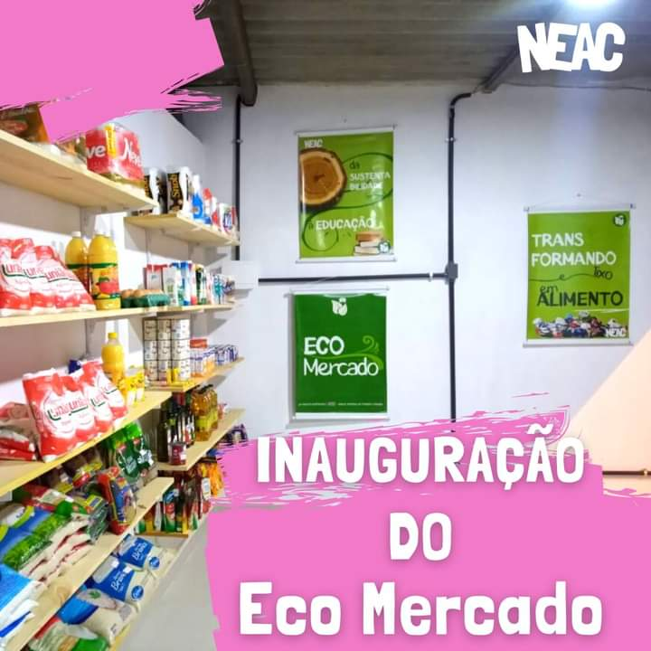 Inauguramos a nova sede do Eco Mercado