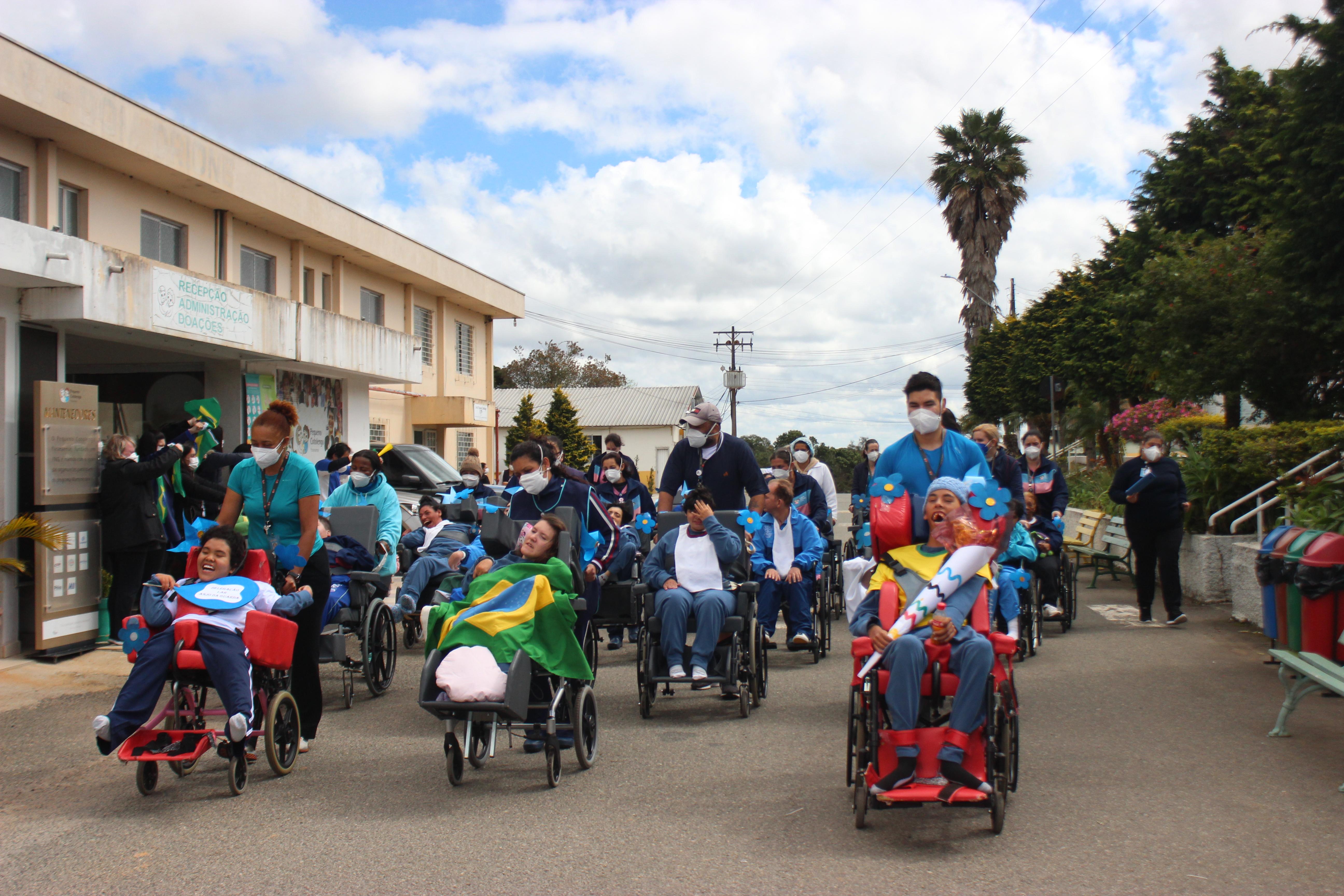 Paralímpiadas do Cotolengo