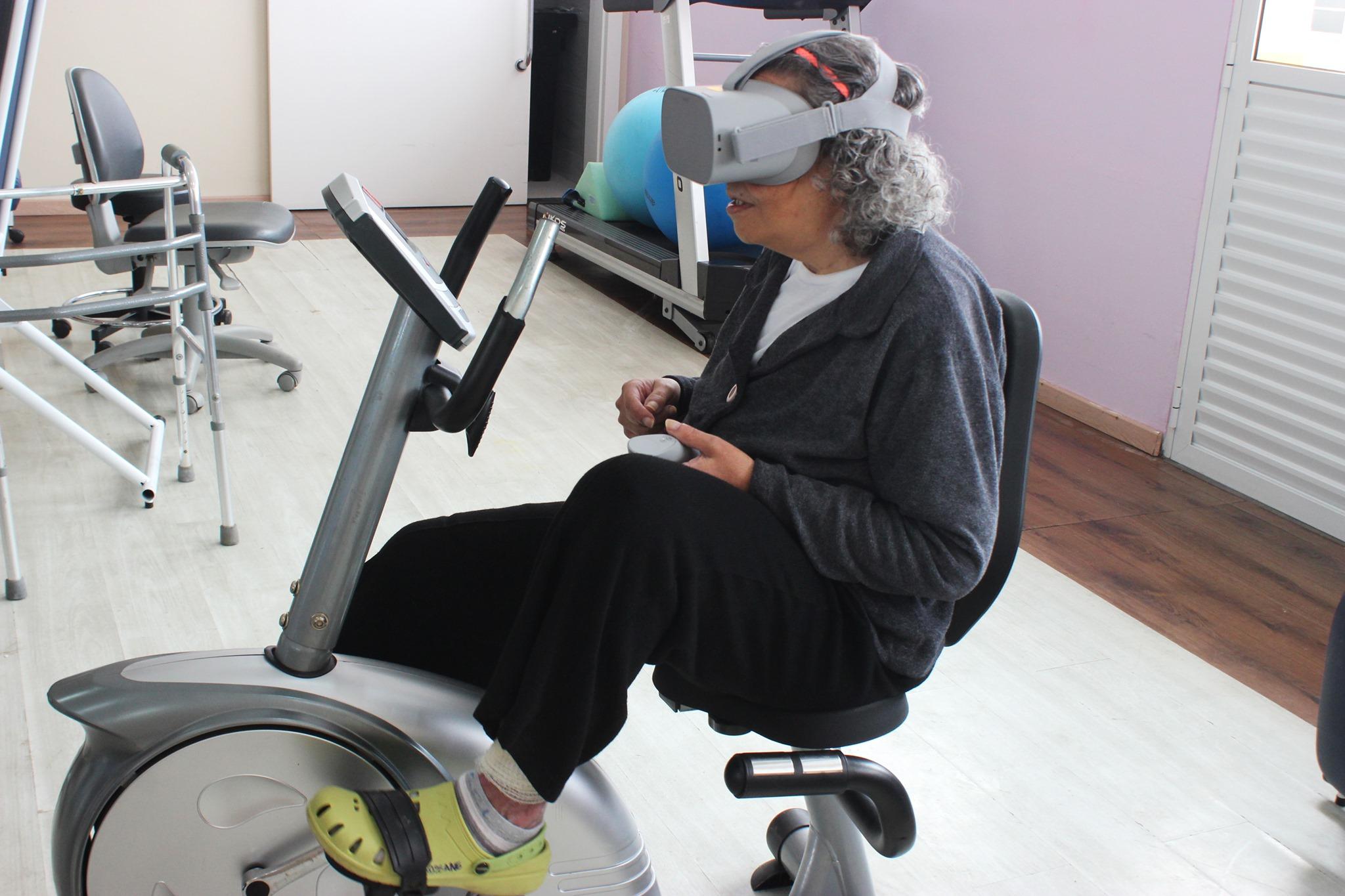 Fisioterapia com Realidade Virtual