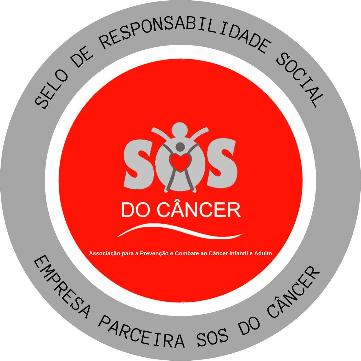 Selo Empresa Parceira SOS do Câncer