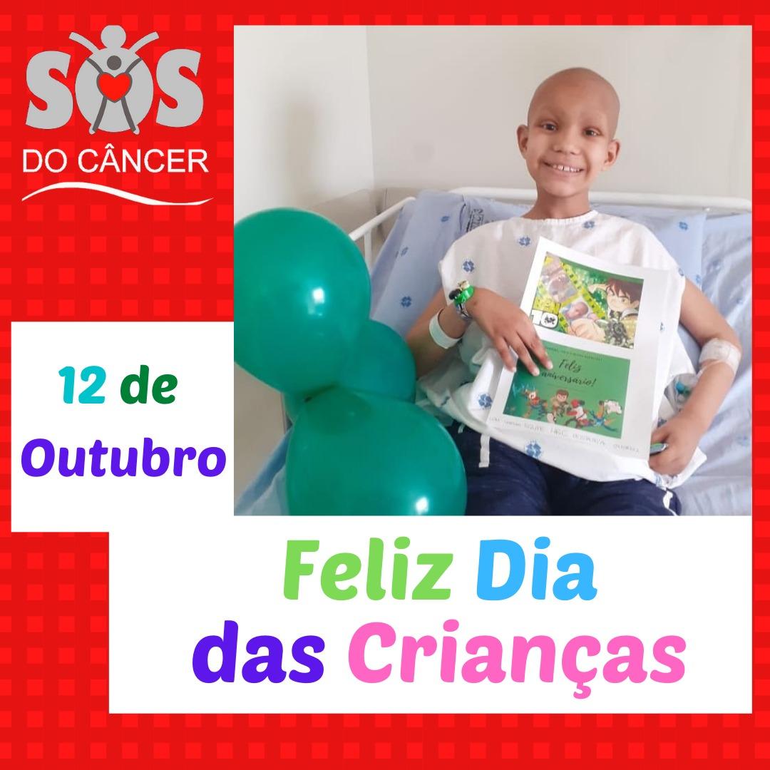 Dia das Crianças SOS do Câncer!